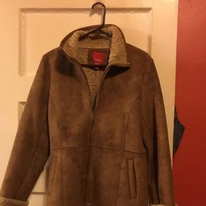 Espirit Tan gently used Shearing jacket..
